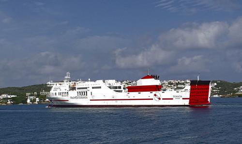 Entrada al port de Maó