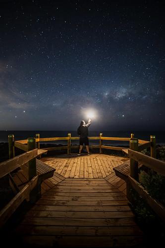 Setting Milky Way, Yanchep Western Australia