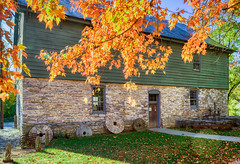 Burwell-Morgan Mill in Fall