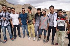 Group Photo at Leh Palace