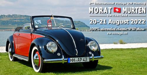 International Vintage VW Meeting Morat/Murten