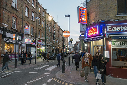 Brick Lane, London E1