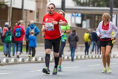 Amateur Athleten beim Franfkurter Marathon