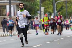 Frankfurter Marathon Athleten mittendrin