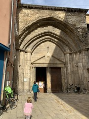 Ruth tried to get into the Cathedral of Orange, but it was the wrong door