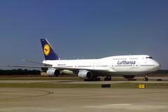 D-ABTC Lufthansa B747-400 at IAH
