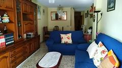 Grandioso salón comedor muy soleado, provisto de aire acondicionado. Solicite más información a su inmobiliaria de confianza en Benidorm  www.inmobiliariabenidorm.com
