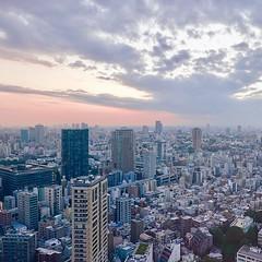A #sunset view from #TokyoTower #東京タワー #tower #夕方 #夕暮れ #evening #twilight #dusk #TorredeTokio #도쿄타워 #TorredeTóquio #ТелевизионнаябашняТокио #东京铁塔 #日本電波塔 #東京都 #Tokyo #港区 #Minatoku #芝公園 #ShibaPark #日本 #Japan
