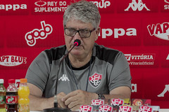 Coletiva 25/10/2019 - Geninho - Fotos: Letícia Martins/ECVitória
