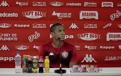 Coletiva 22/10/2019 - Everton Sena - Fotos: Letícia Martins/EC Vitória