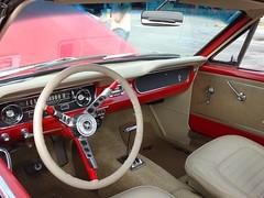 1965 Ford Mustang, Interior Forward