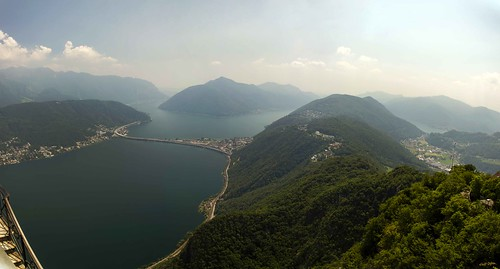 Lugano Panorama South (Flickr)