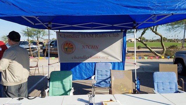 Chandler HAM Radio Club at CopaFest 2019
