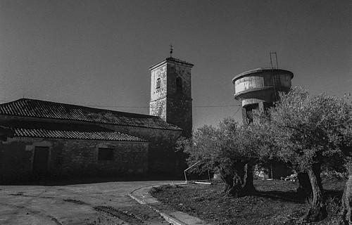 Casas de San Galindo, iglesia parroquial.
