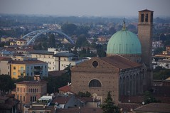 view from airbnb in padova