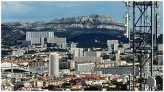 Marseille depuis Notre Dame de la Garde