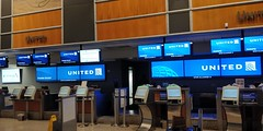 Austin International Airport United Check-in Counters