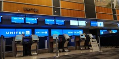 United Airlines Ticket Coutner Austin