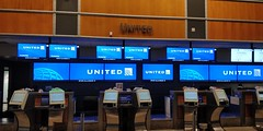United Airlines Check-in KAUS