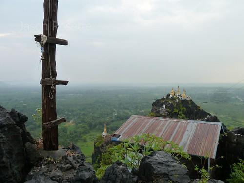View from Hilltop Pagoda, Mawlamyine, Burma
