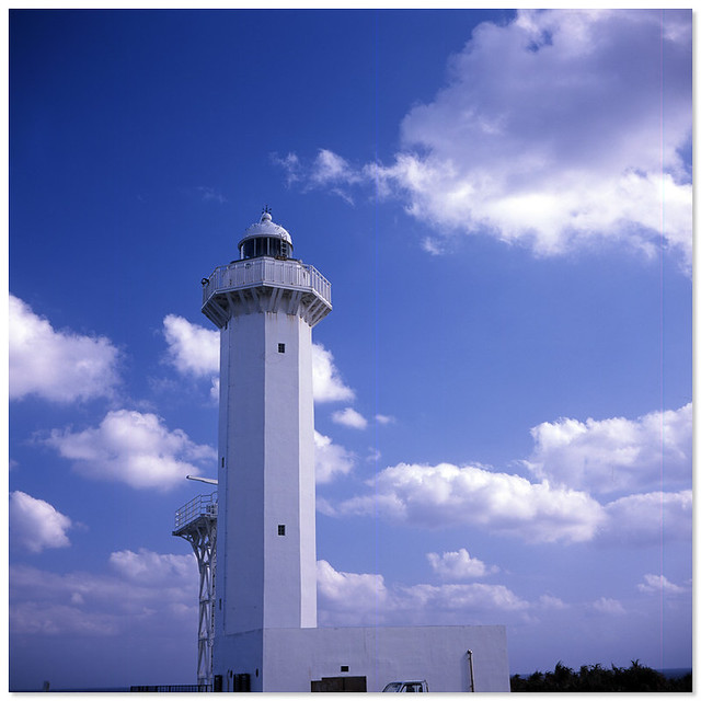 Photo:Higashi-hennazaki Lighthouse, 平安名埼灯台 By cHoIminG