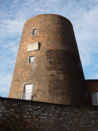 Le moulin Naveau, observatoire de Napoleon le 16 juin 1815