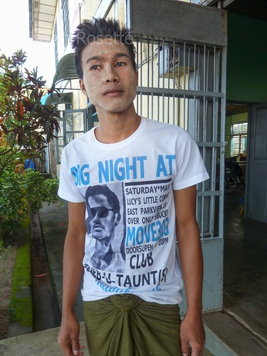 Youthful Librarian, Mawlamyine, Burma