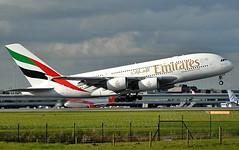 EK/UAE Emirates Airlines Airbus A380 A6-EDI