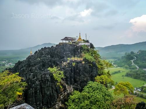 Landscape with Hilltop Pagoda, Mawlamyine, Burma