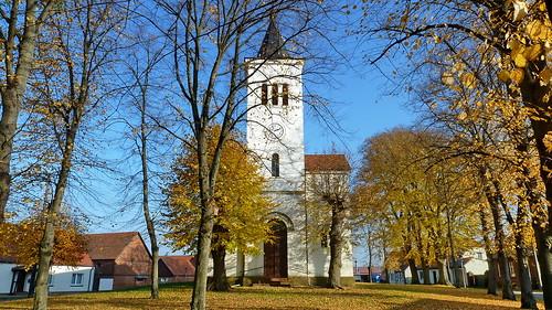 20111101 Brandenburg Rehberg 'Havel Radweg' 'Rathenow zur Havelmündung' Kirche (2)