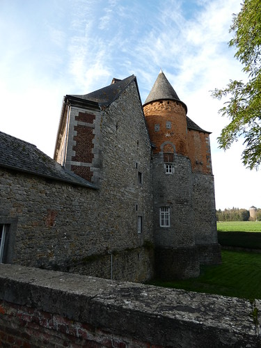 Château du Fosteau à Thuin