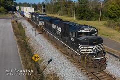 NS 1107 | EMD SD70ACe | NS Memphis District West End