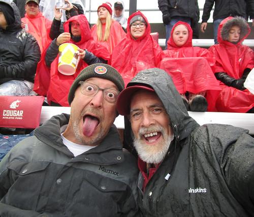 Chris Knudsen & Bryan Cole at WSU Homecoming 2019