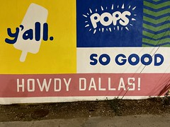 howdy dallas mural