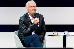 Richard Branson, Founder Virgin Group auf der Digital X in Köln