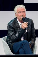 Richard Branson, Gründer von Virgin spricht über die Zukunft auf der Digital X