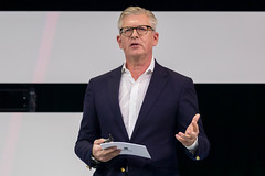 Börje Ekholm über 5G powered business