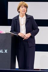 Henriette Reker, Oberbürgermeisterin von Köln auf der Digital X in Köln