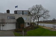 Zicht op Hotel de Zon in Ommen (135FJAKA_2931)