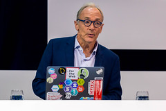 Tim Berners-Lee, Inventor of the World Wide Web in a moderated talk at Digital X in Cologne
