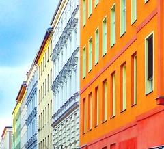 Schöneberg houses. Berlin