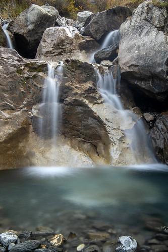 Une des cascades du Dar