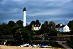 Le phare de Bénodet
