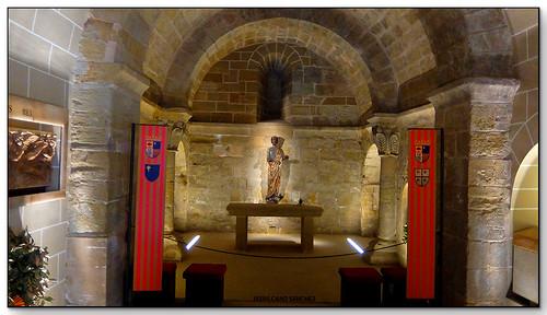 Capilla de San Bartolomé, Monasterio de San Pedro el Viejo, Huesca (España)