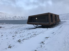 The new technical building  at the Svalbard Global Seed Vault, housing technical installations and rooms for Seed Vault work and activities
