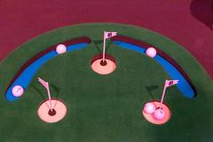Golf at Digital X Artificial Grass and Balls to put
