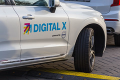 Digital X powered by Volvo - car with the fair branding