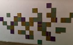 Tiles panel as a Map (2019) - Cristina Ataíde (1951)