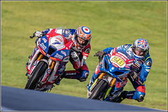 #7 Ryan VICKERS  On a: RAF Regular & Reserves Kawasaki & #28 Bradley RAY  On a: Buildbase Suzuki