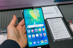 Huawei Mate 20X 5G displayed at Digital X in Cologne